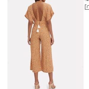 02633c4eff7 Faithfull the Brand Pants - 🆕 Faithfull The Brand Cedric Jumpsuit- Tan  Floral